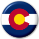 Colorado State Flag 25mm Pin Button Badge